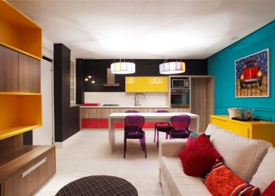 decoracao de apartamentos pequenos de baixo custo:Decoração de baixo custo e menor impacto ambiental são conceitos de